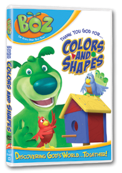 BOZ: Colors and Shapes DVD