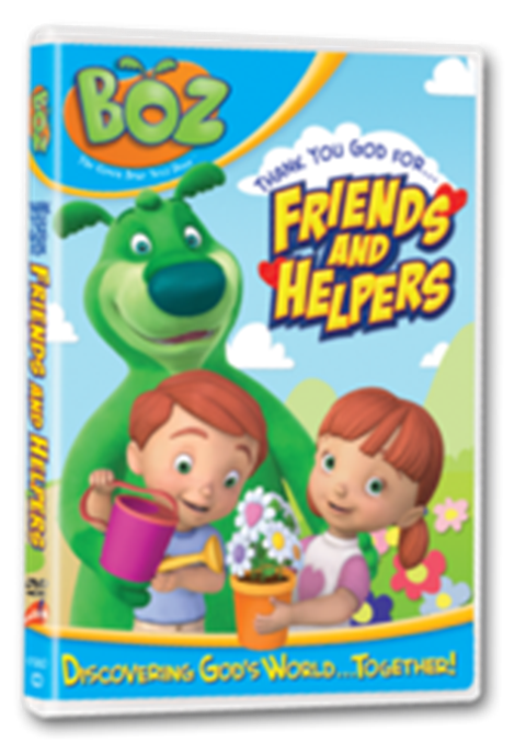BOZ: Friends and Helpers DVD
