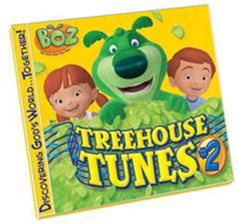 BOZ Treehouse Tunes #2 CD