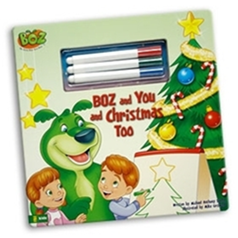 BOZ and You and Christmas Too - Book