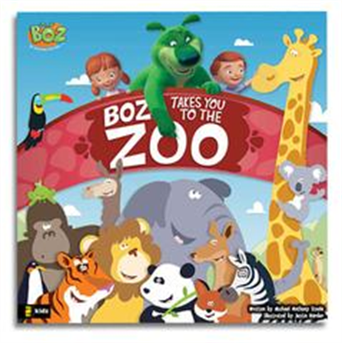 BOZ Takes You To The Zoo - Book