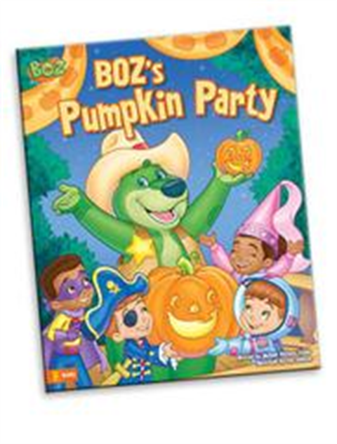 BOZ's Pumpkin Party - Book