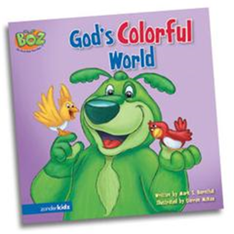 God's Colorful World - Book