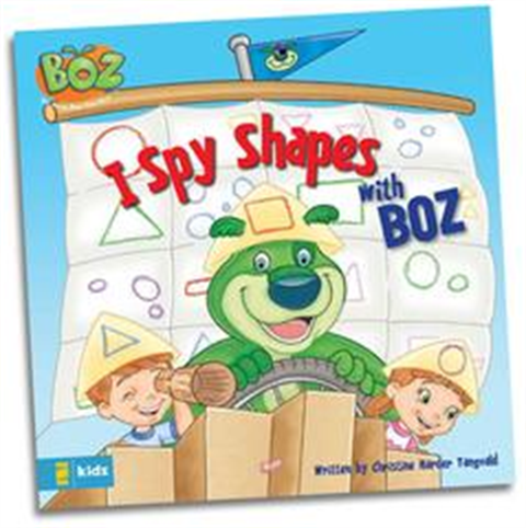I Spy Shapes with BOZ - Book