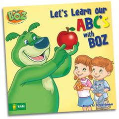 Let's Learn Our ABC's with BOZ - Book
