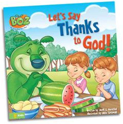 Let's Say Thanks to God - Book