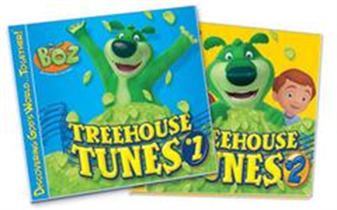 BOZ Treehouse Tunes #1 & #2 Digital Audio Set